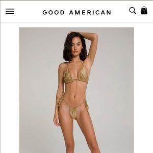 Good American Hi Hi Tanga Bottoms + Top